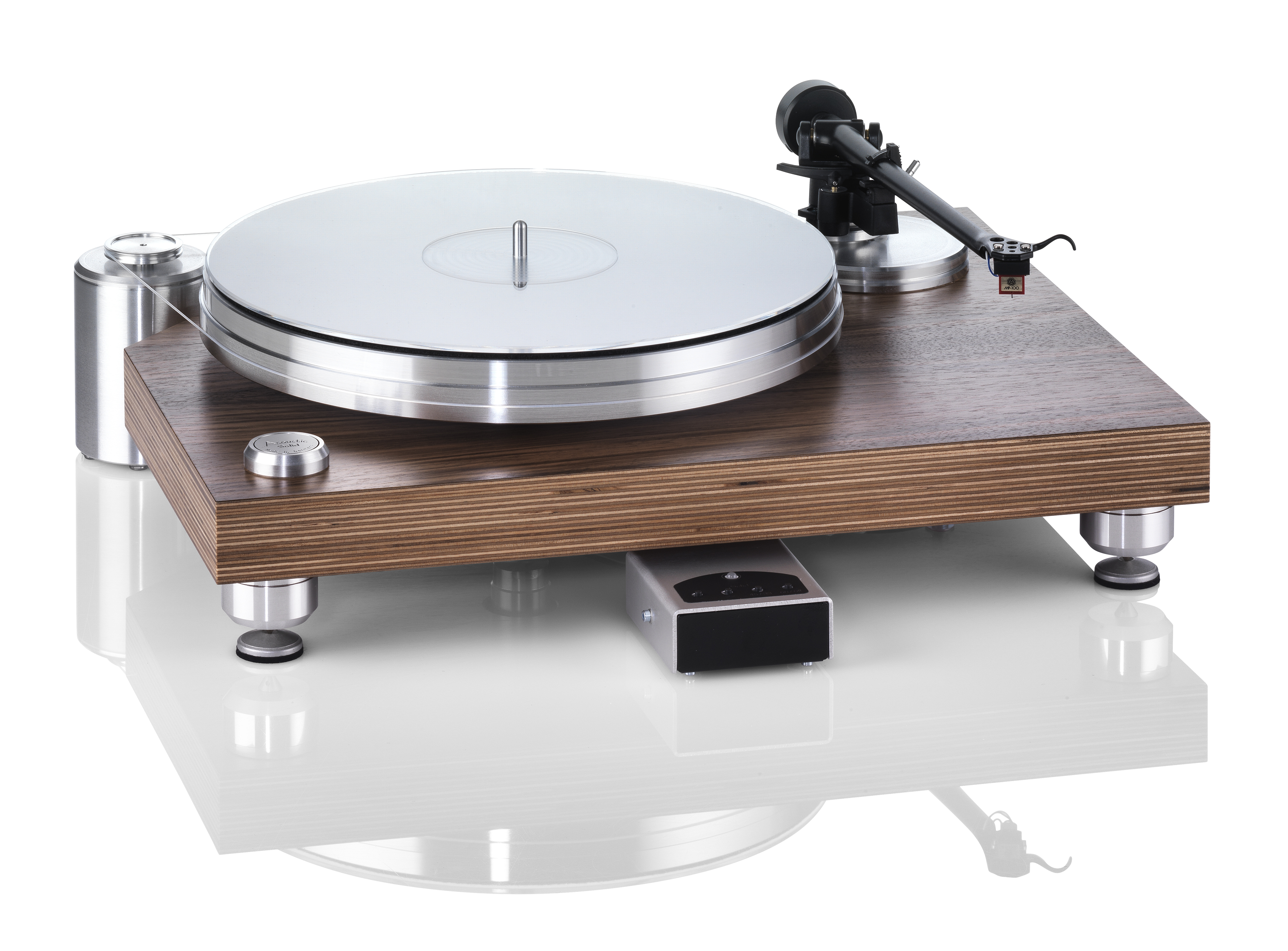 ACOUSTIC SOLID - Classic Wood Midi Xtended PURE ALUMINUM